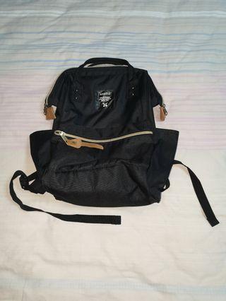 black anello mini backpack