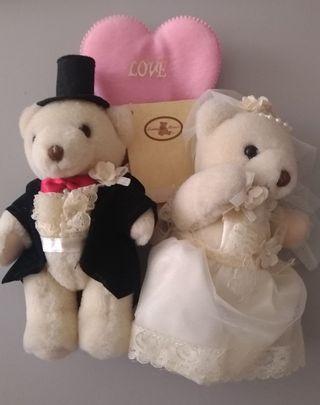 新郎新娘泰迪熊