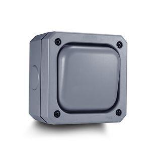 2218) Aodoka Outdoor Switch Single Weatherproof (1Gang 10A IP66)