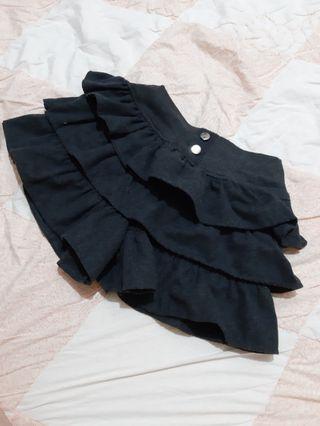 蛋糕褲裙/深灰