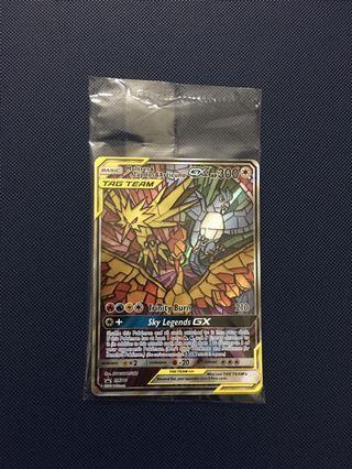 Moltes Zapdos Articuno Tag Team Pokemon TCG Card