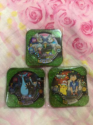 Pokemon tretta set 3 in 1