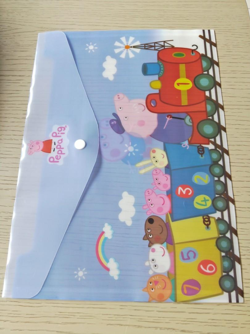 A4 button folder, kid birthday party stationery goodies item, children day