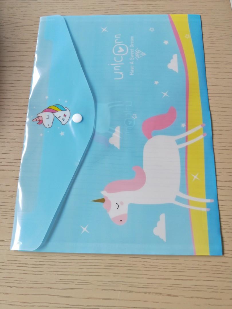A4 button folder,  kid birthday party stationery goodies item, children day