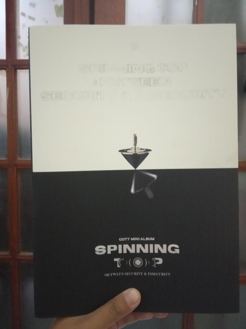 Album GOT7 Spinning Top: Between Security & Insecurity