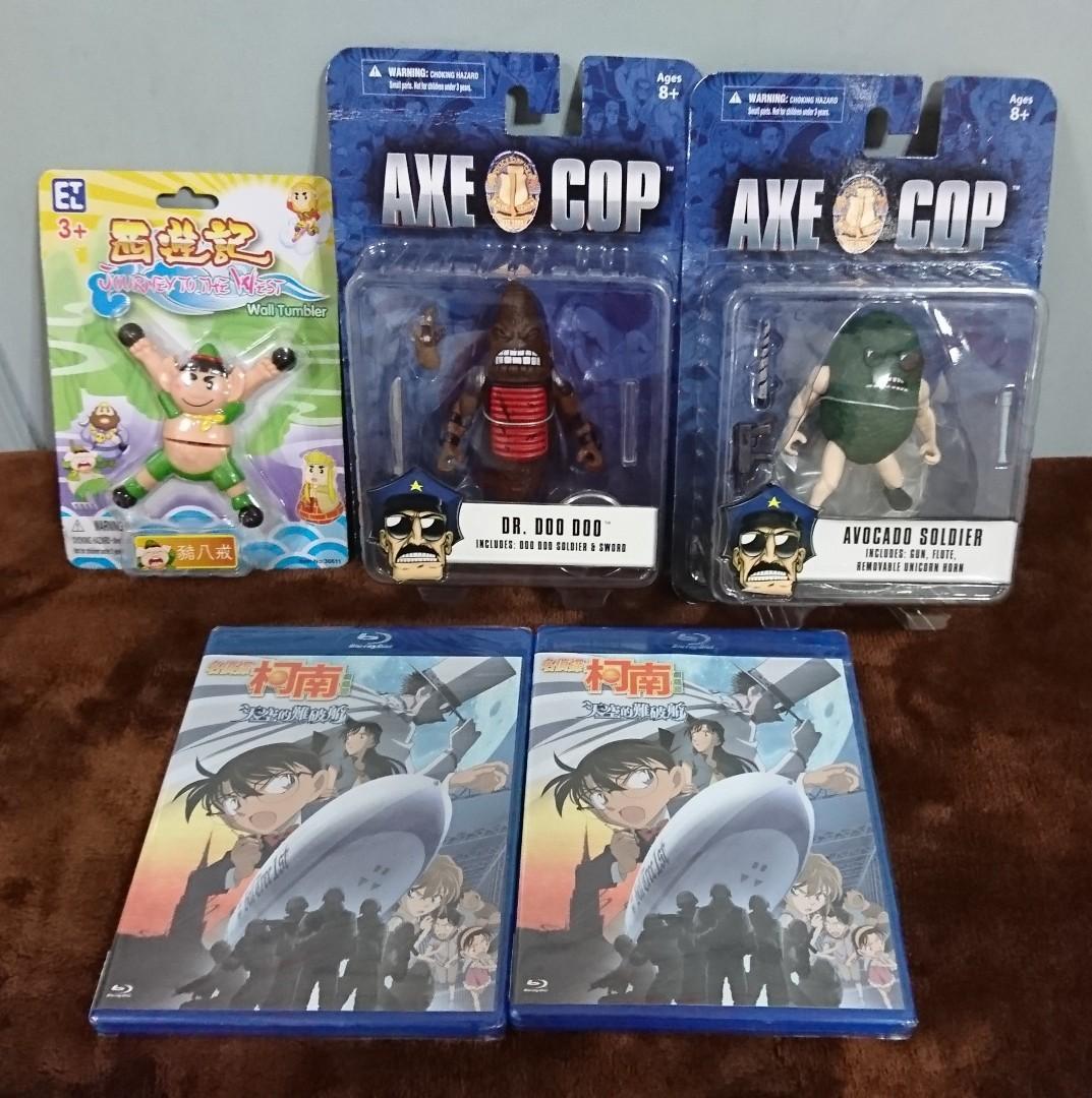🌈懷舊,全新,中古,西遊記,AXE COP 怪獸,名偵探柯南 劇場版 天空的難破船M14,Blu-Ray Diss ,DVD。CD,唱片,唱機,麥當勞,大膠,膠公仔,其它。