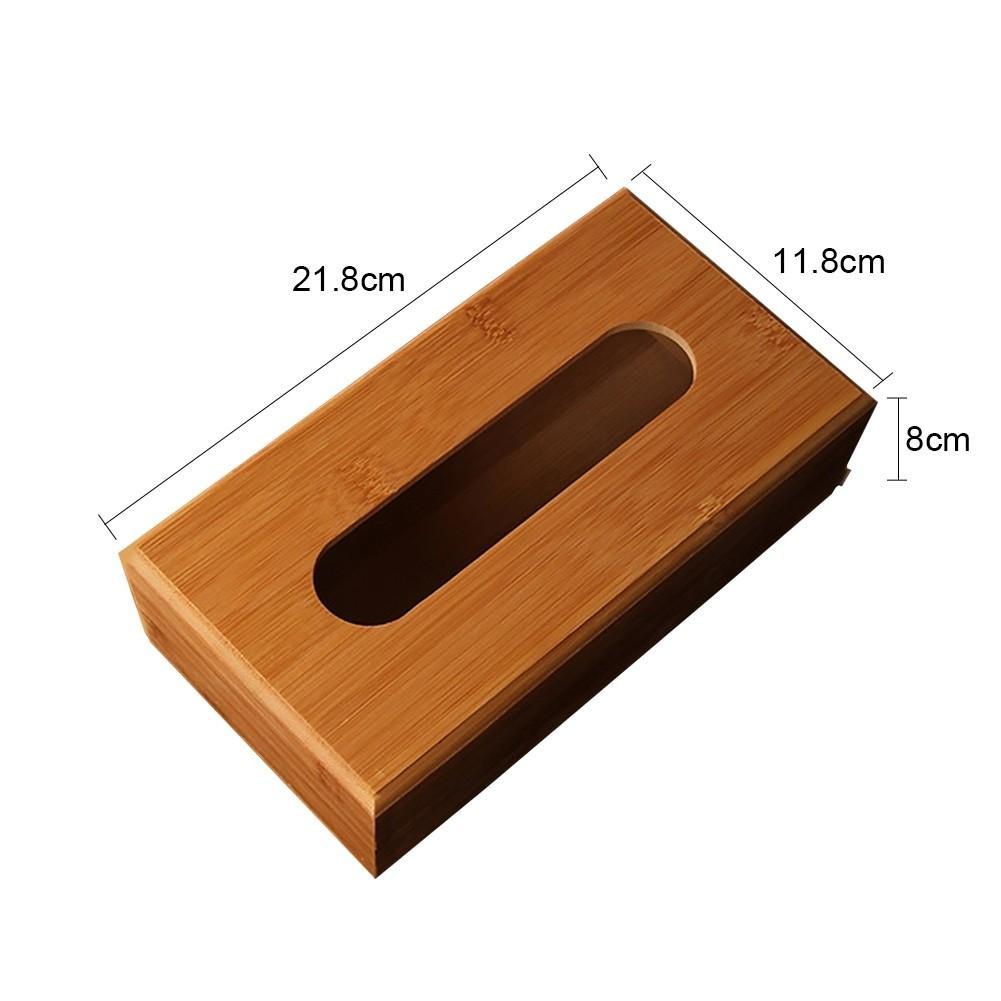 Bamboo Wooden Tissue Box