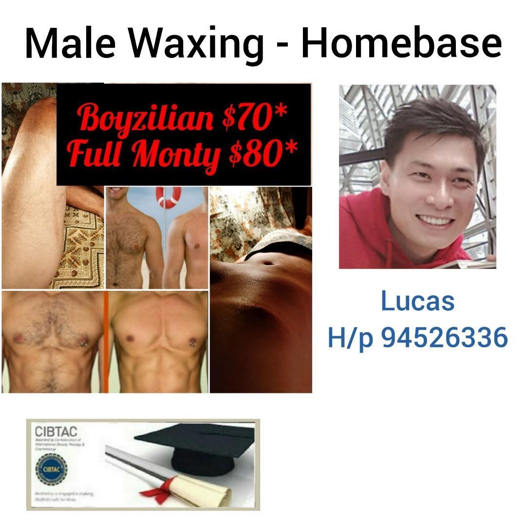 Boyzilian waxing for man