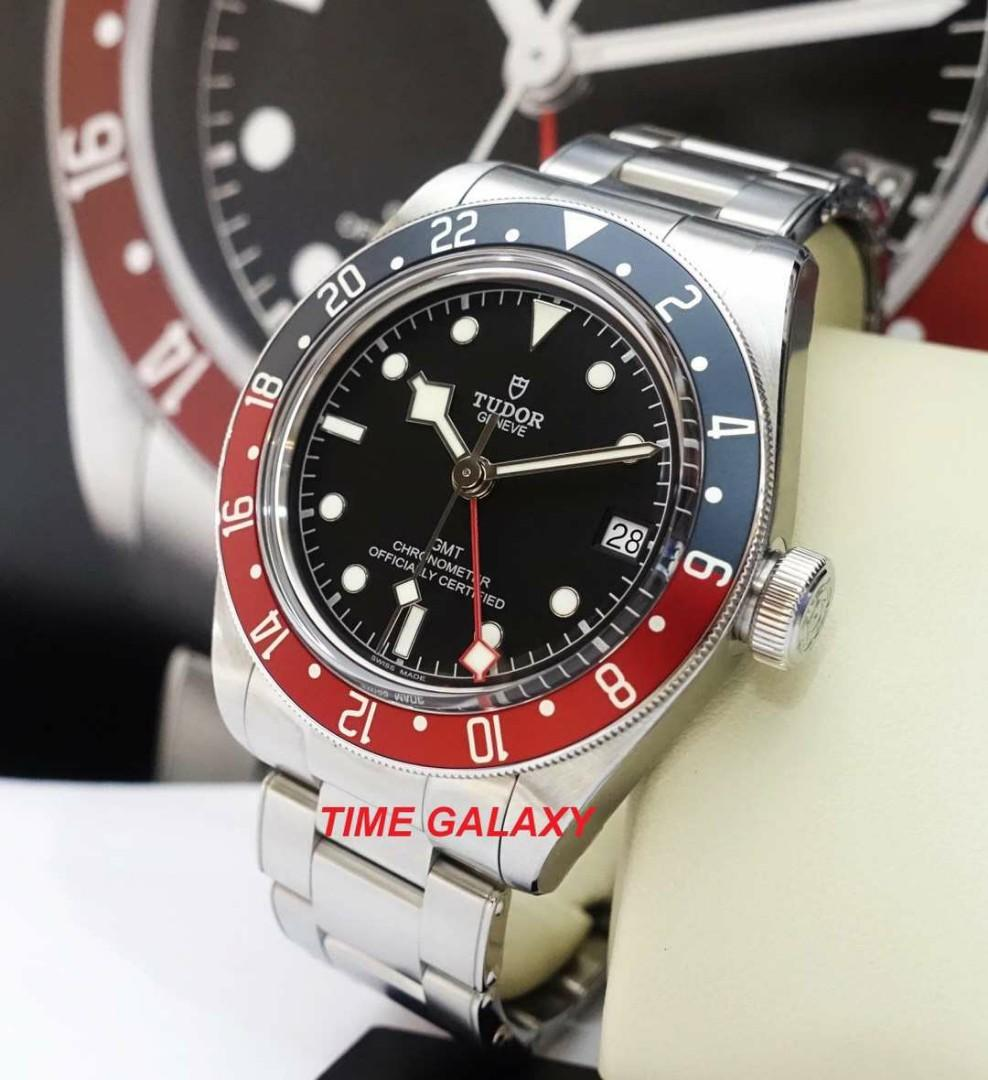 Brand New TUDOR Black Bay PEPSI GMT 41mm Men's Auto Stainless Steel  Watch. Model : 79830RB