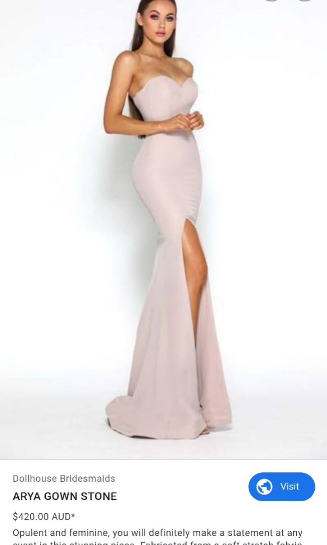 Brand new with tags - Portia & Scarlett Arya Gown in Muave