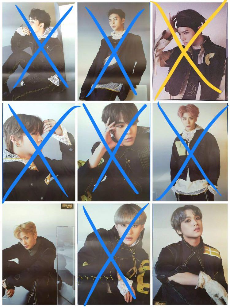 Clearance NCT 127 Superhuman Official Posters Sale