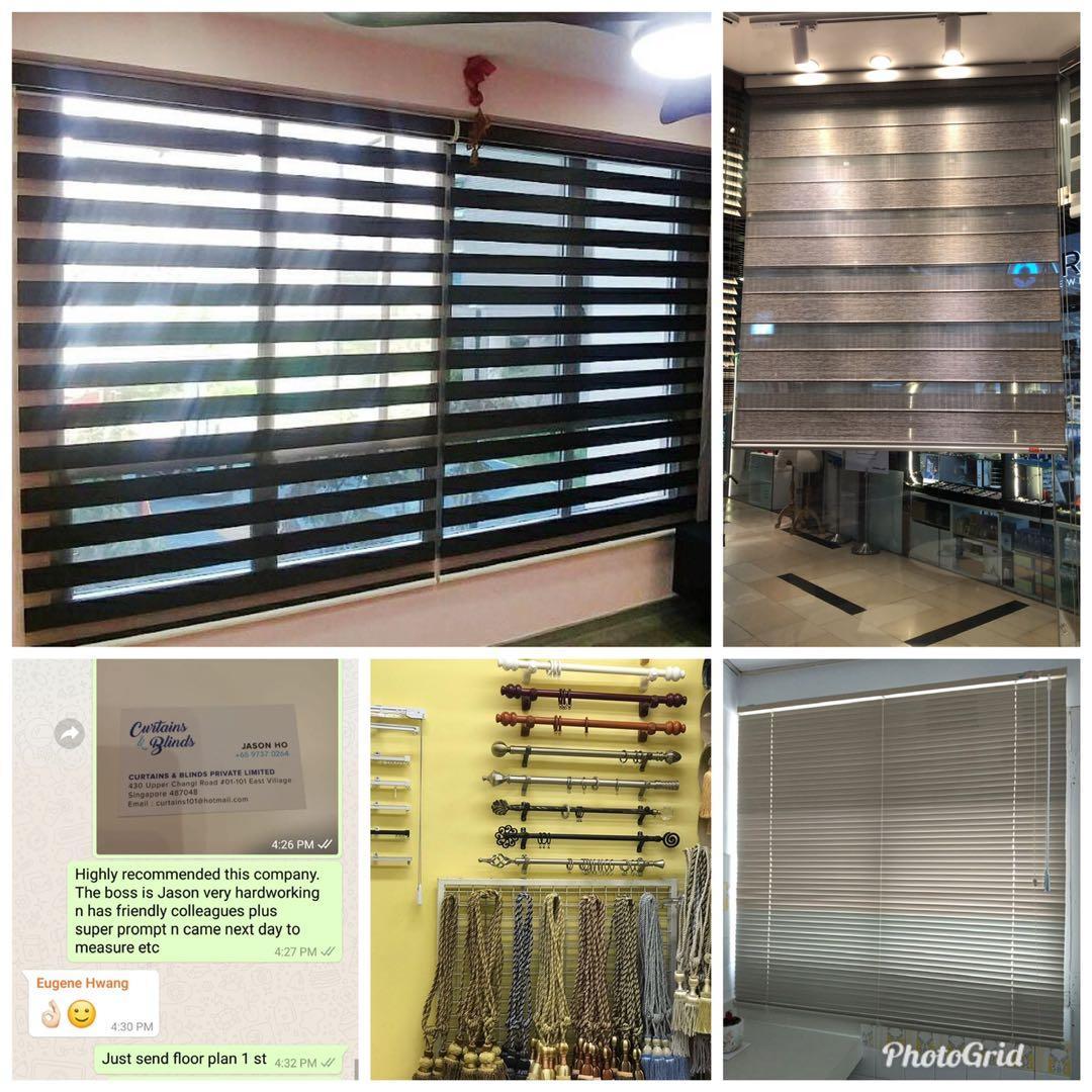 Combi / Korean / Rainbow Blinds Curtains