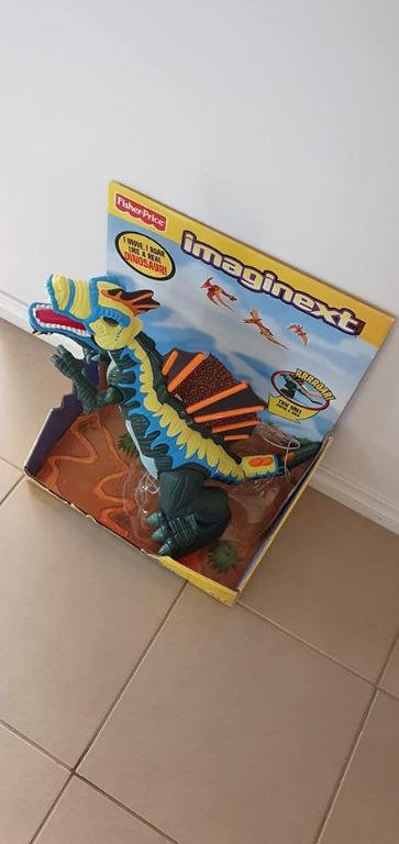 Euc Fisher Price IMAGINEXT Mega Spinosaurus Animated Moves