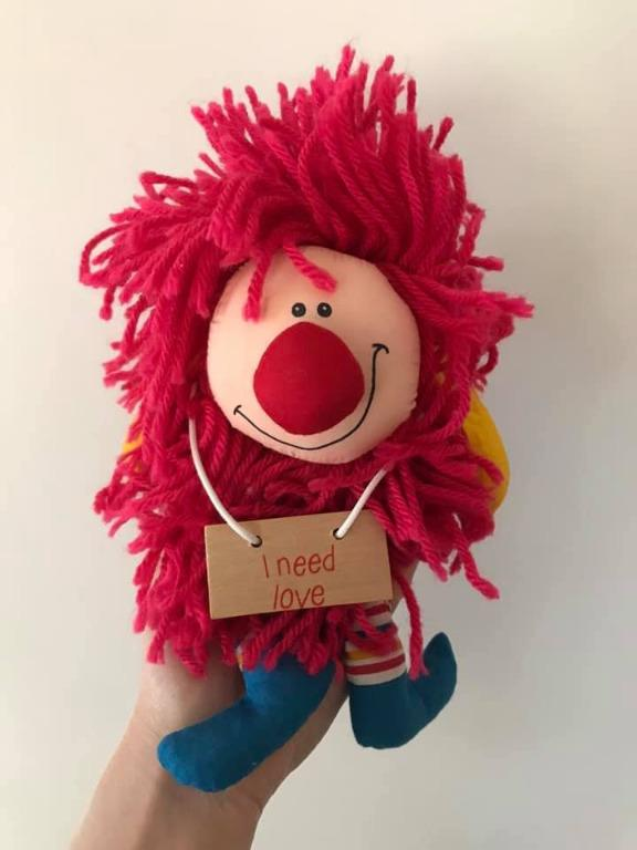 Euc Mr Ruffles vintage 1980s plush toy By Plaintalk