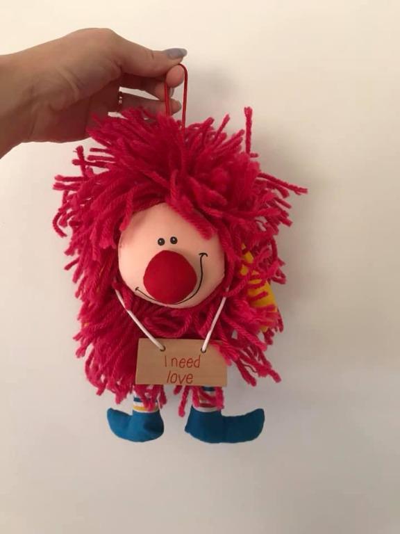 Euc Mr Ruffles vintage 1980s plush toy By Plaintalk