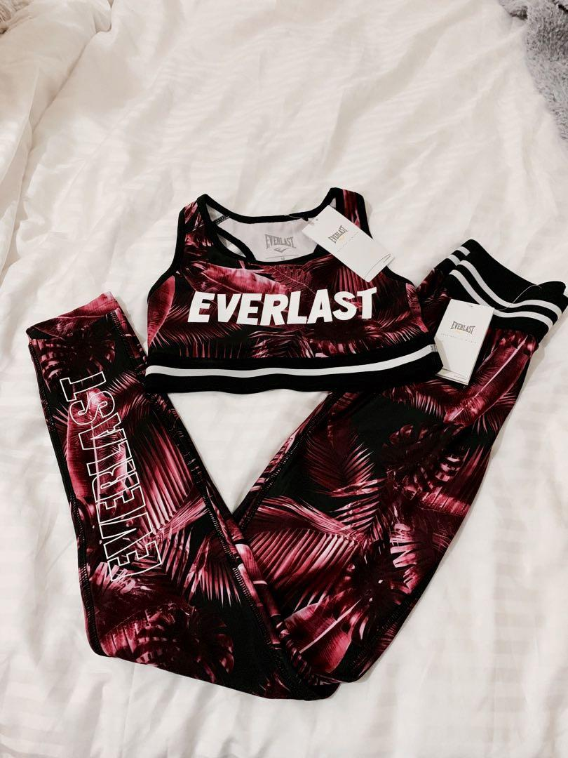Ever last set sports bra (m) and tights bottoms (s)