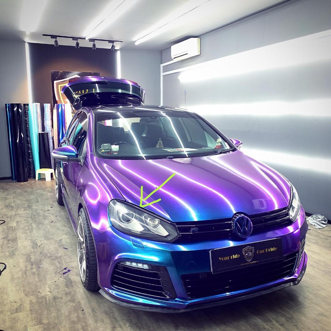 Express car wrap