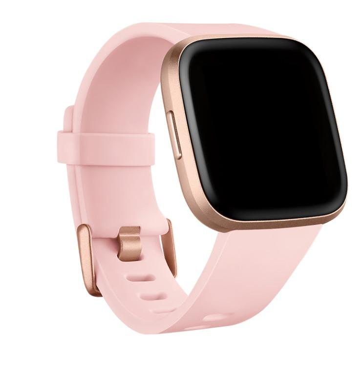 Fitbit Versa™ Family Accessories Classic Band - Petal, Size Small