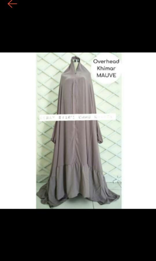 French khimar overhead
