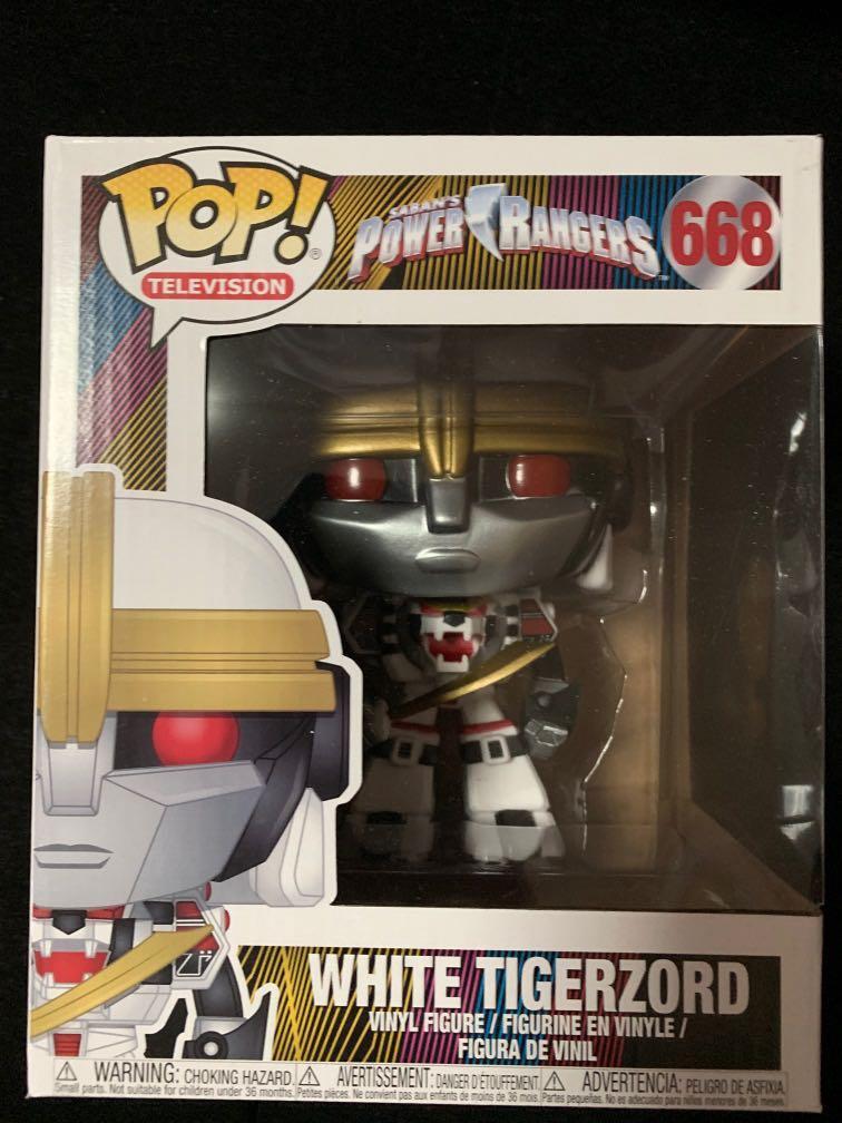 Funko POP White Tigerzord Power Rangers