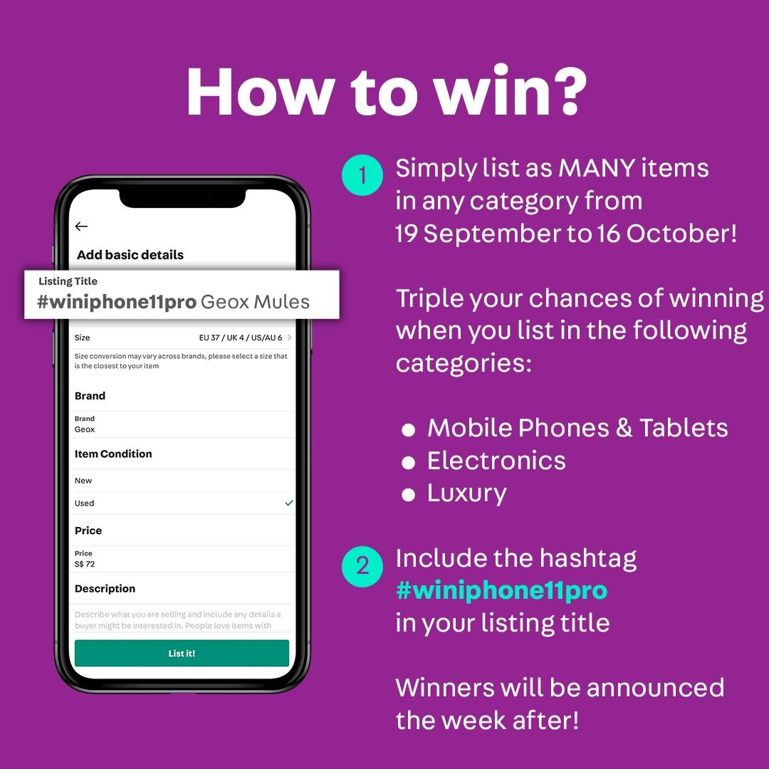 Get Updated, List Outdated: List & Win iPhone 11 Pro #winiphone11pro