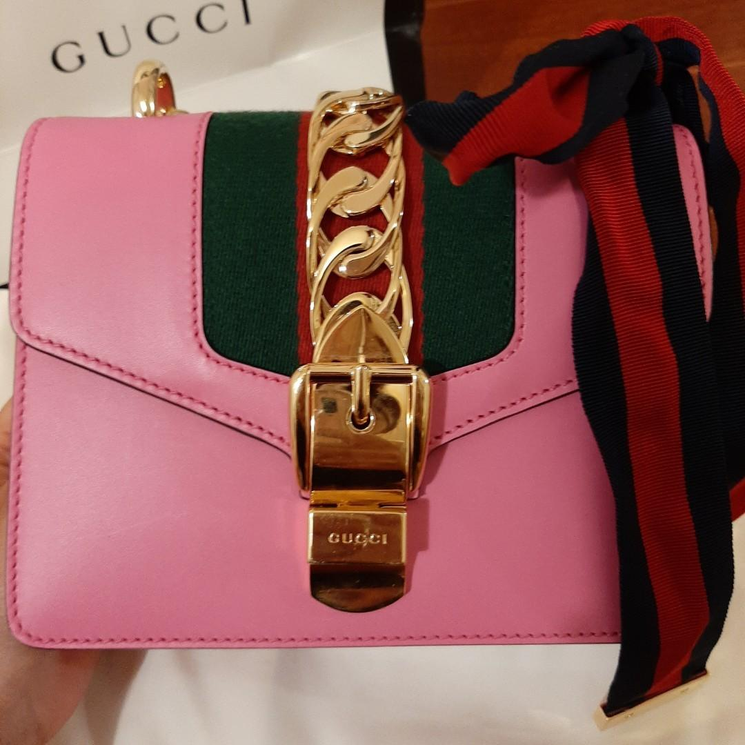 Gucci Sylvie leather mini chain bag - Limited edition