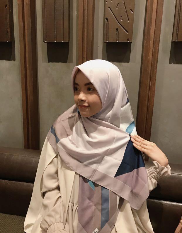 Hijab Voal/segiempat/scarf