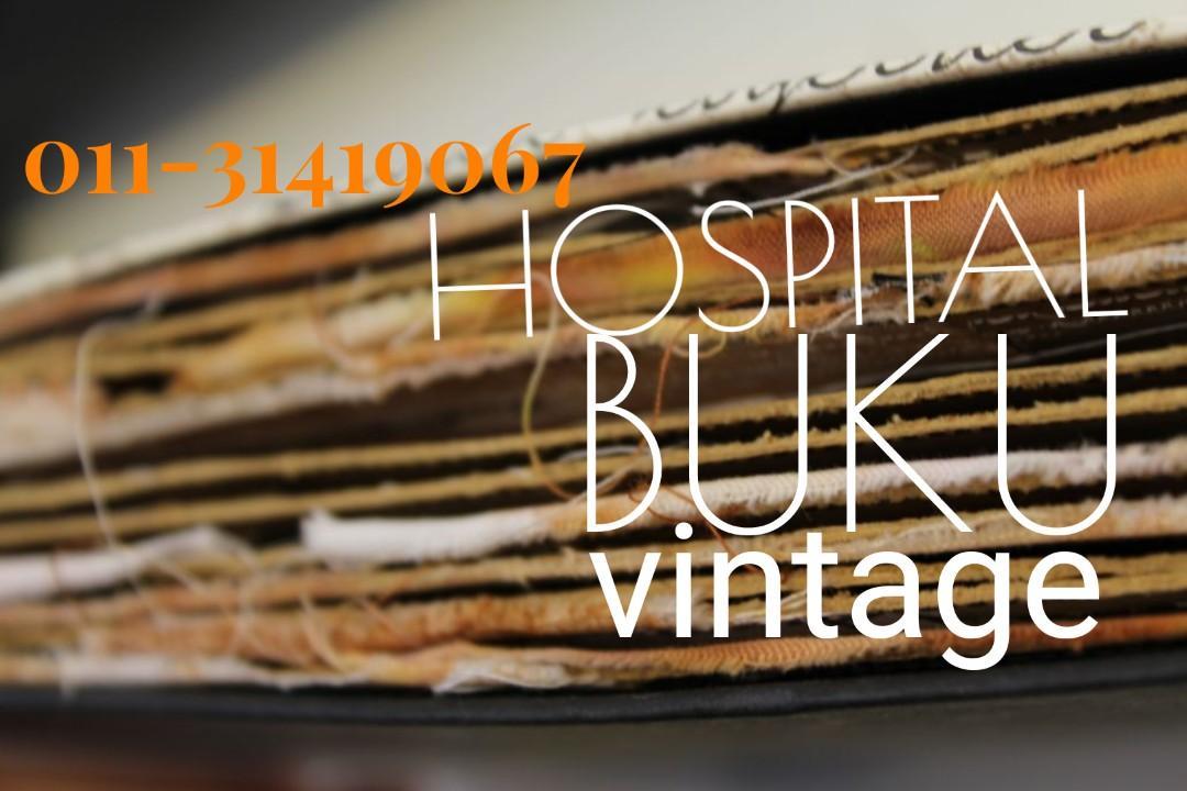 HOSPITAL BUKU VINTAGE