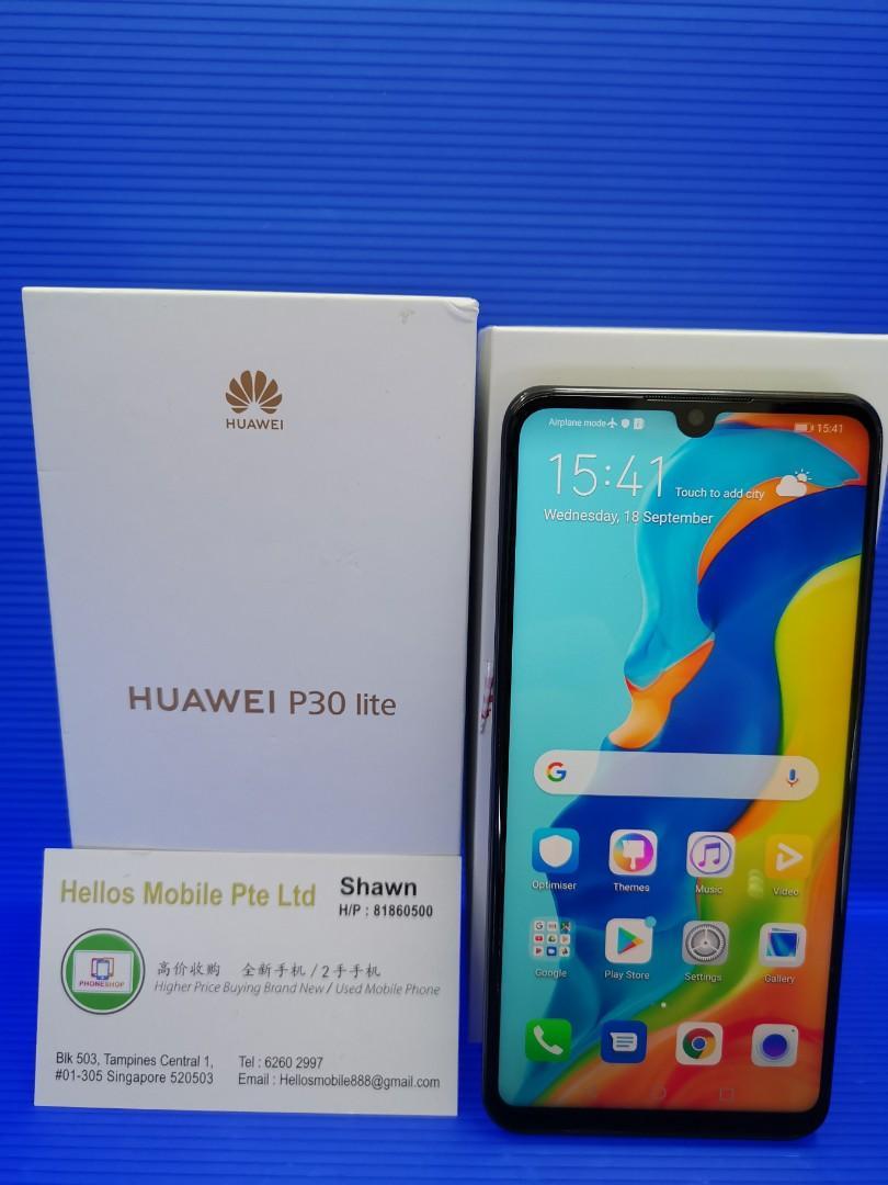 Huawei P30 lite black(used)