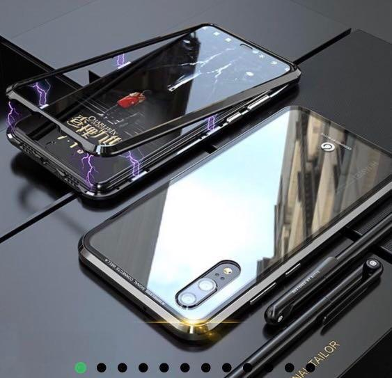 Huawei P 20 magnetic phone case and screen protector