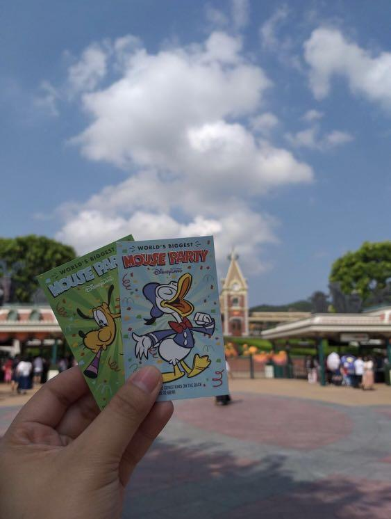 I am buying and looking for HK disneyland tickets...6