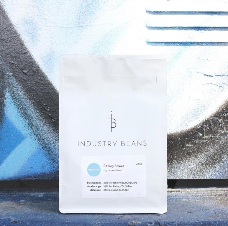 Industry Beans Fitzroy Street Signature Blend Coffee 250g