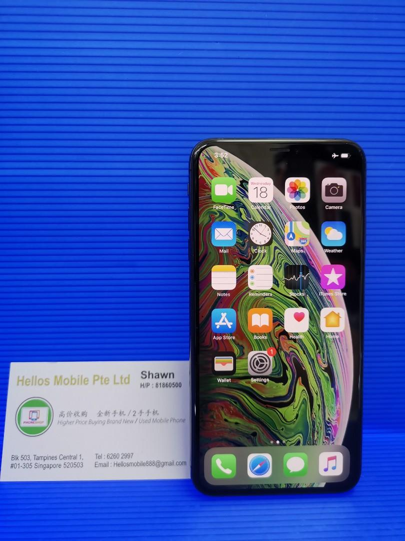 iPhone XS Max 256gb gray (used)