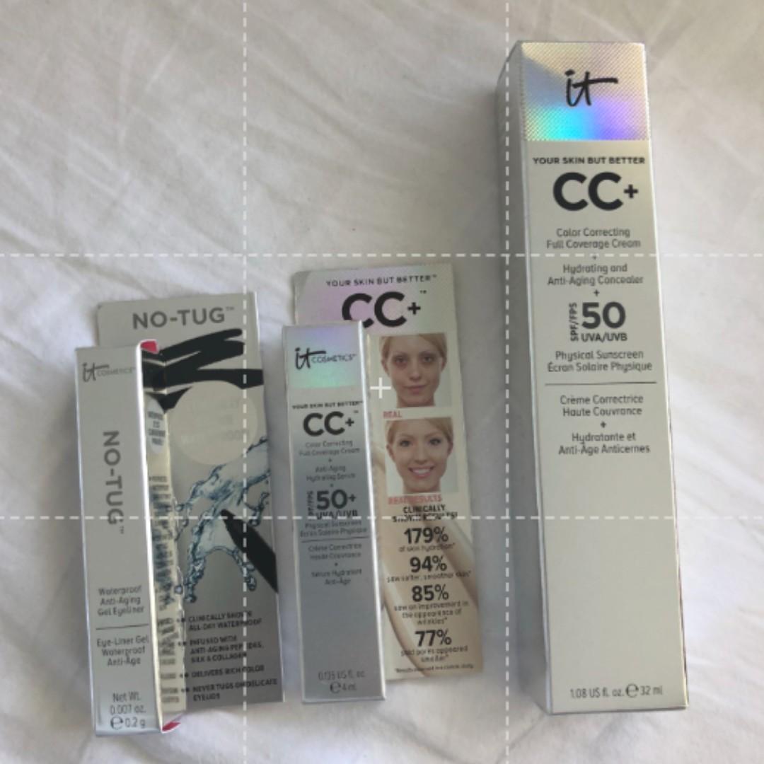 It Cosmetics Bye Bye Under Eye Full Coverage Anti-Aging Waterproof Concealer - MEDIUM