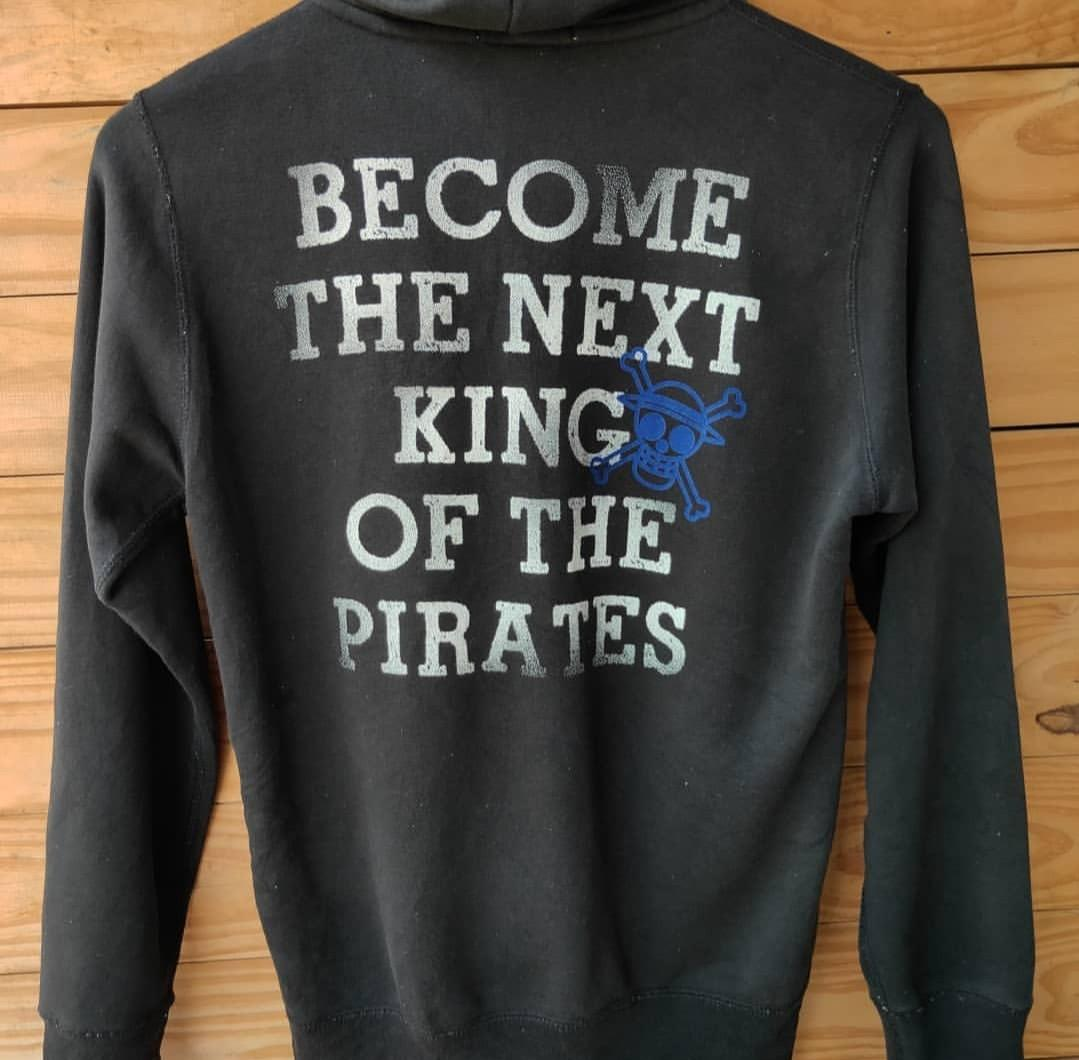 Jaket sweater hoodie uniqlo one piece