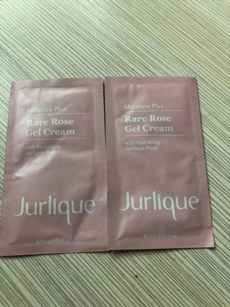 Jurlique rare rose gel cream 2ml x 2