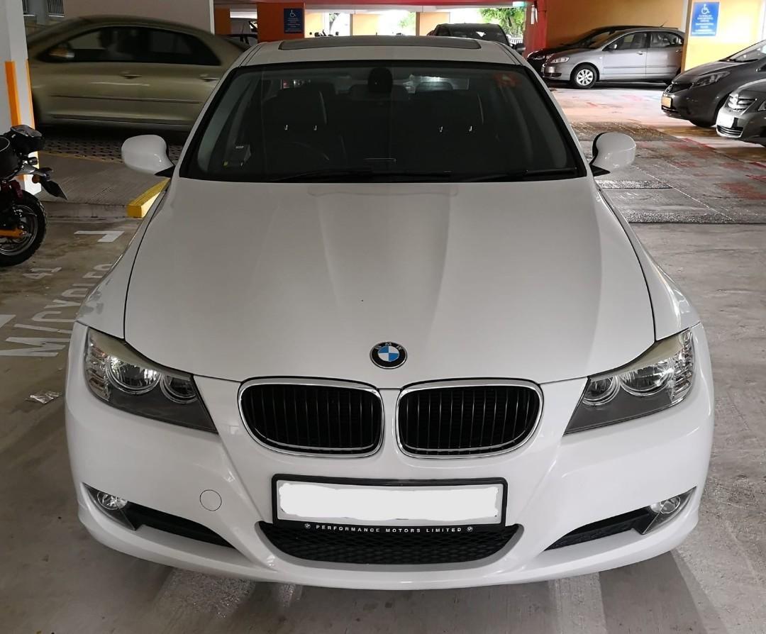 BMW luxury car rental/lease