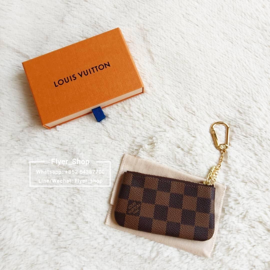 LV 經典棋盤格鎖匙包 Key Pouch Card Holder