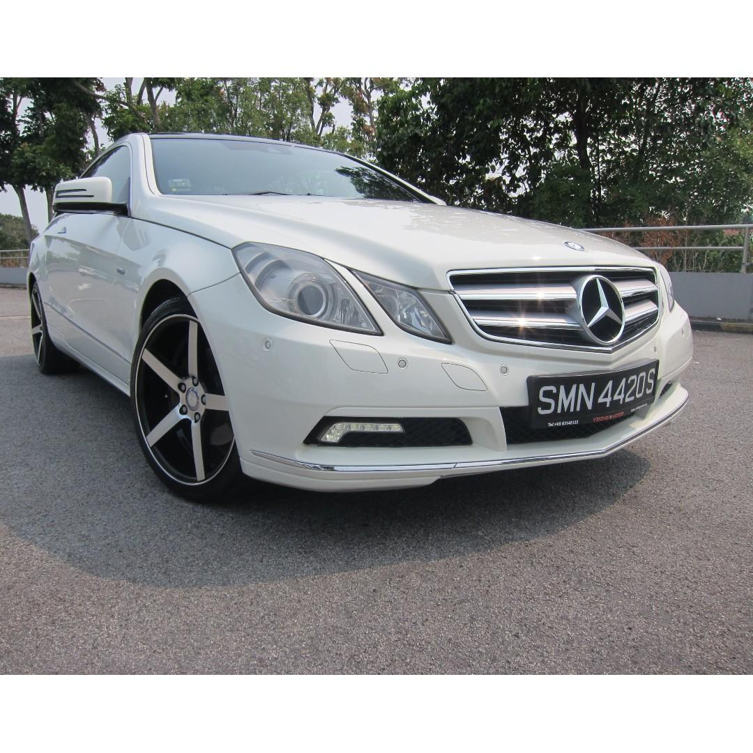 Mercedes-Benz E200 Coupe CGI BlueEfficiency Auto
