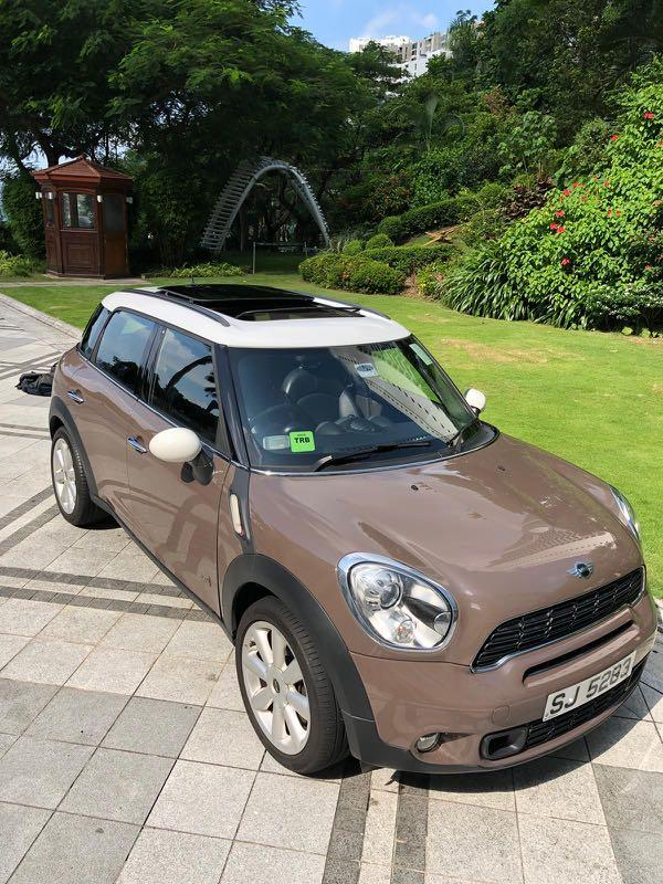 MINI COUNTRYMAN S ALL4 2012