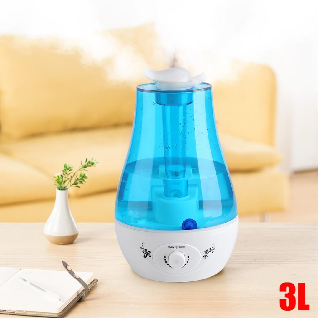 Mist Air Humidifier for Room/Office - up to 72 hours