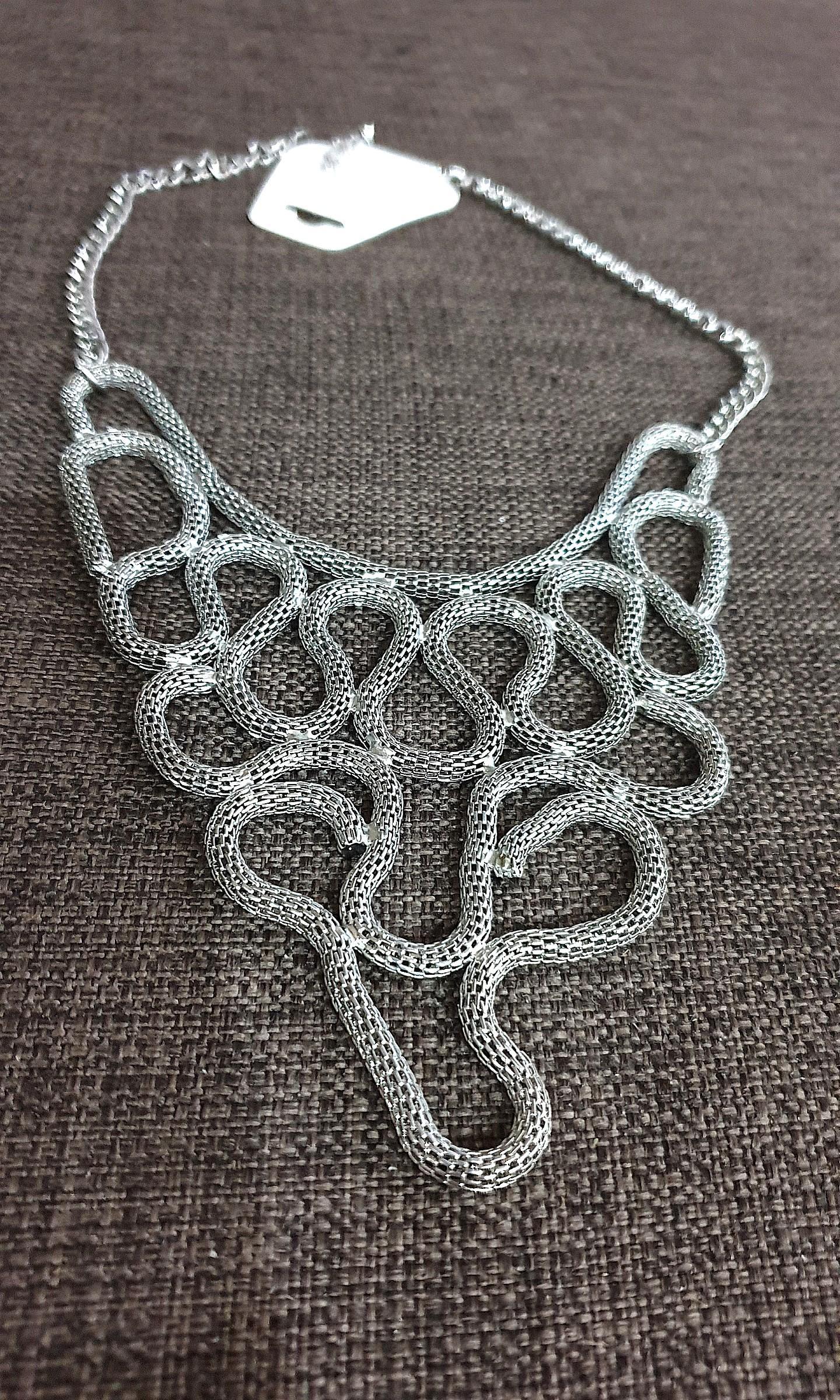 Elegant silver necklace #MYCYBERSALE
