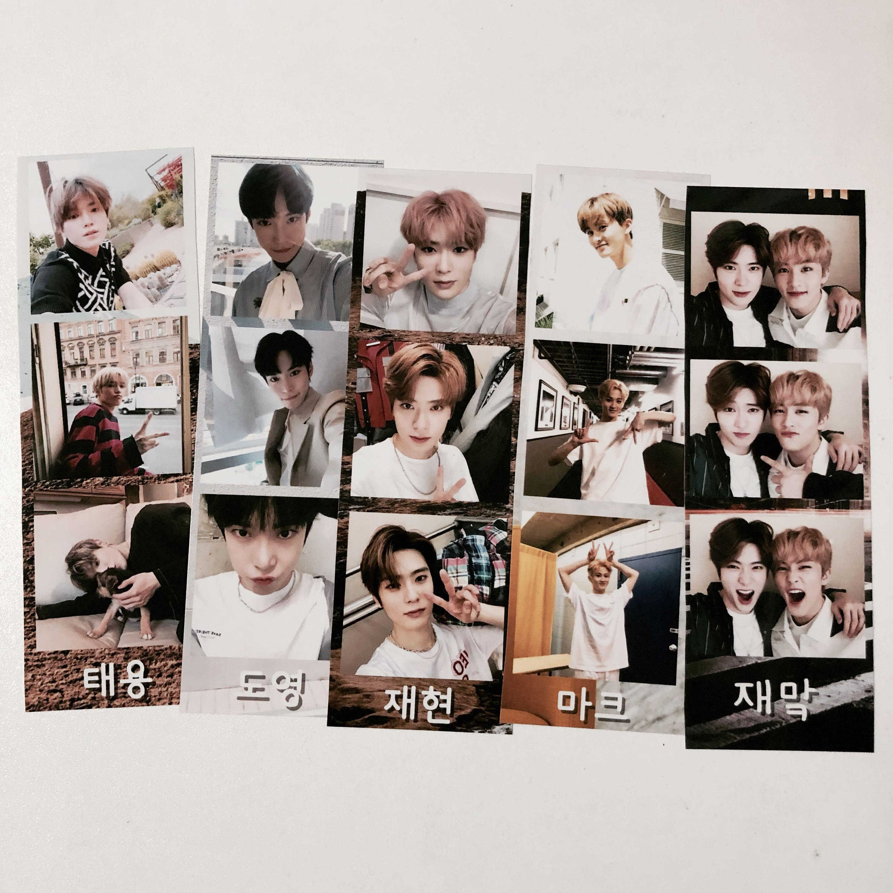 price reduced!! nct photostrip