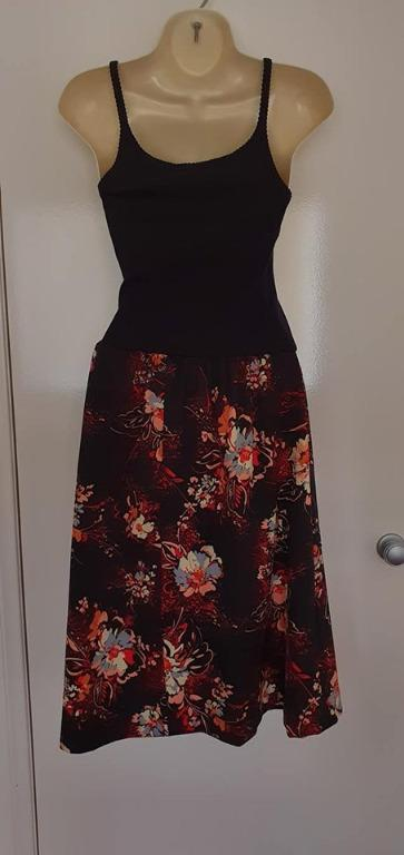one size, best fits size 10 ladies Vgc Darling Clementine one of a kind tank dress