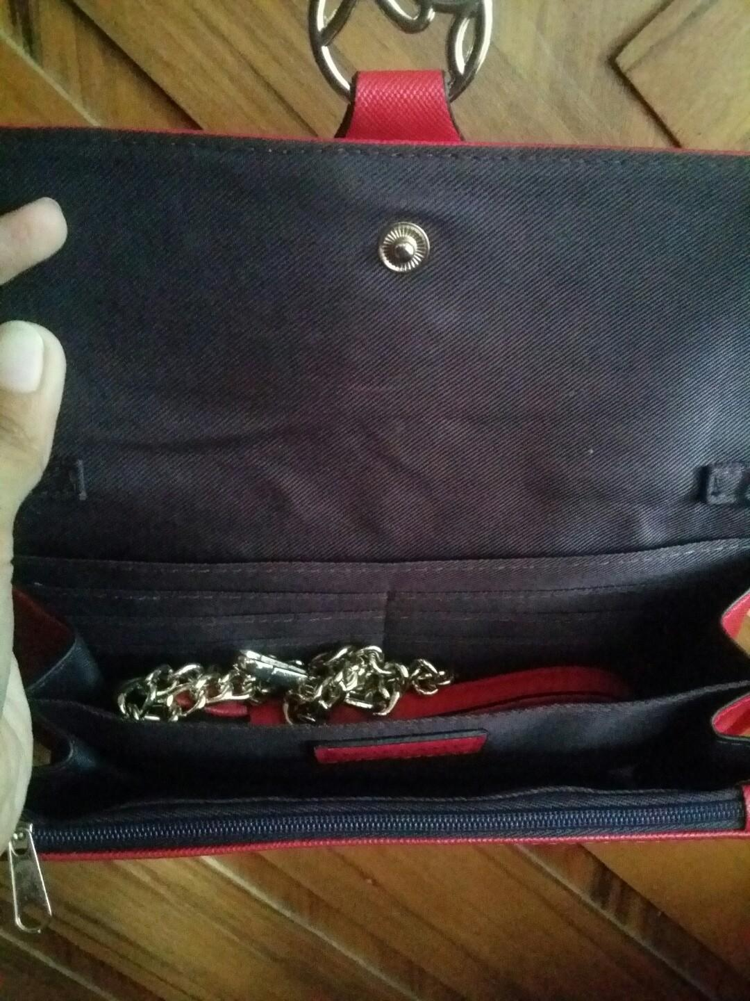 oriflame clutch / dompet sling