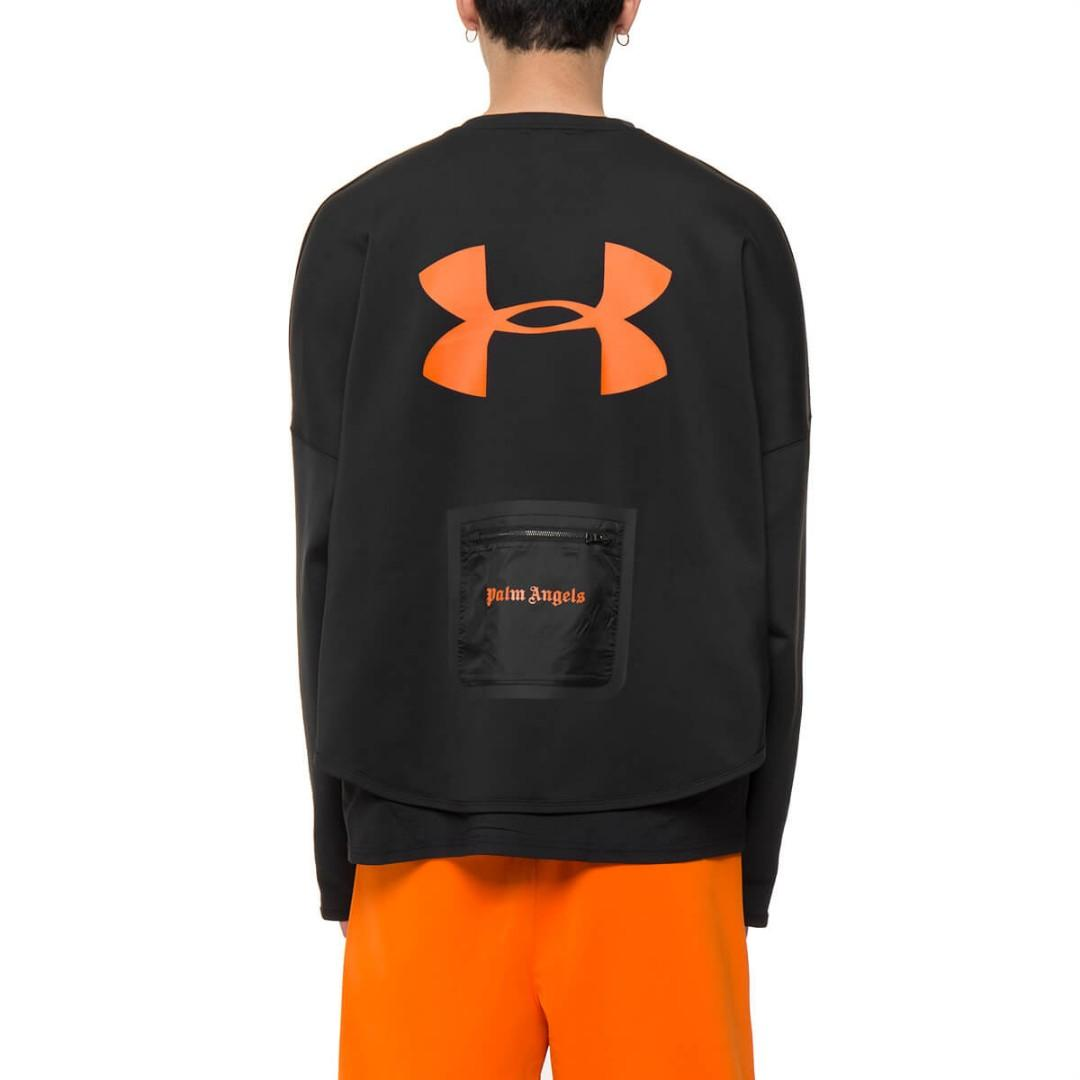 Típicamente Secreto personalidad  In Stock* Palm Angels x Under Armour Sweatshirt, Men's Fashion, Clothes,  Outerwear on Carousell