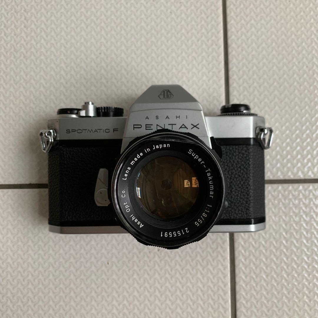 Pentax 底片相機 SPOTMATIC F SP F 二手 中古 135 零件機