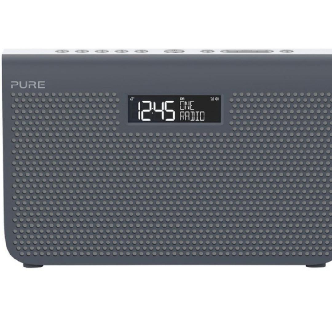 Pure One Maxi Series 3s Stereo Portable DIGITAL RADIO, ALARM AND SPEAKER