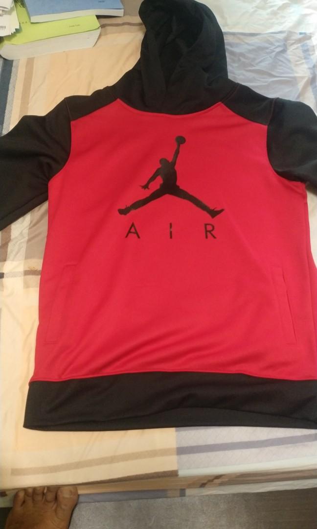 Red Jordan hoodie sweater