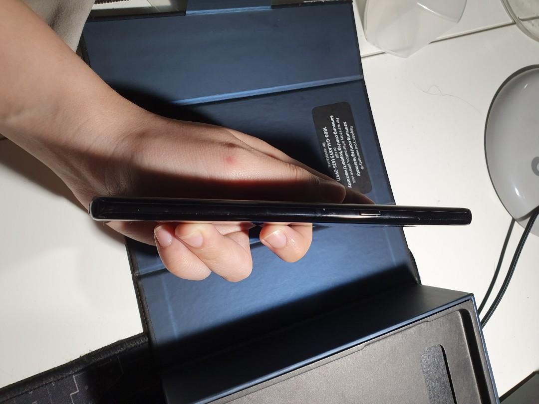 Samsung Note 8 Midnight black